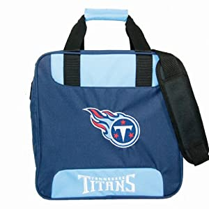 NFL Single Bowling Bag-Tennessee Titans by KR Strikeforce Bowling Bags