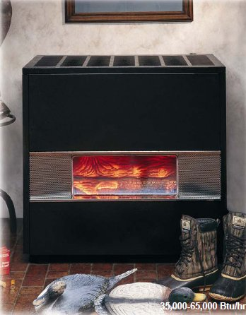 Discount Fireplace Mantels 35k Btu Vented Hearth Heater Fireplace Look Propane 3502521 Williams