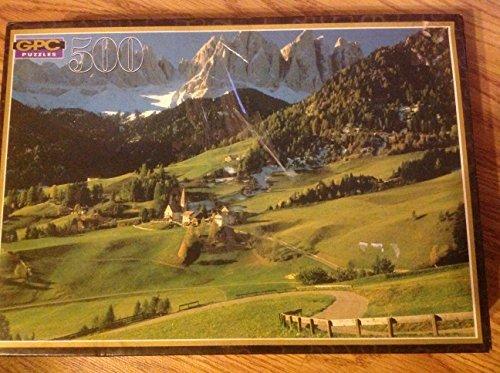 GPC 500 Piece Jigsaw Puzzle Dolomites Italy - 1