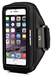 Gear Beast Case Compatible Sports Armband for Otterbox Commuter & Defender Cases for iPhone 6 (4.7 Inch) & Samsung Galaxy S5 / S4 / S3 & LG G3 / 2 & More (Black)