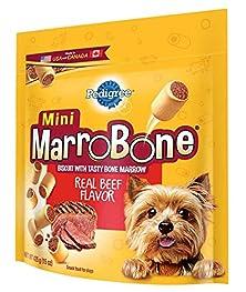 buy Pedigree Marrobone Real Beef Flavor Mini Snacks For Dogs 15 Oz. (Pack Of 8)