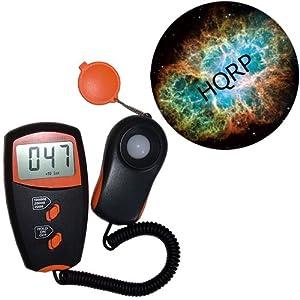 HQRP Digital LUX / Light Meter LX-1010BS /w LCD display plus HQRP Coaster