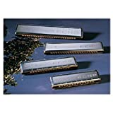Hohner 57-C/G Echo 57 Harmonica 60 Hole Tremolo, Key of C/G