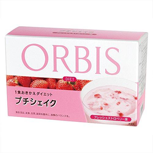 オルビス(ORBIS) プチシェイク フレッシュストロベリー味 各100g×7食分 (ダイエットドリンク・スムージー) 4443