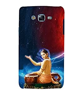 printtech Lord God Buddha Back Case Cover for Samsung Galaxy J5 / Samsung Galaxy J5 J500F
