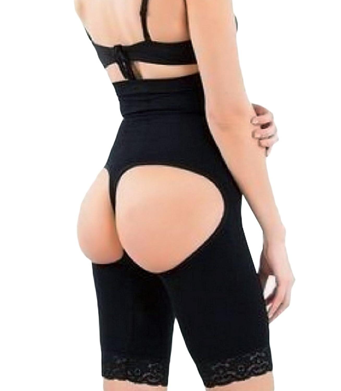 Damen Butt Lifter Spitzenbund Shapewear Miederpants Figurformende Unterwäsche Miederslips online bestellen