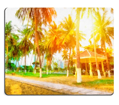 luxlady-gaming-mousepad-image-id-34628977-painting-with-palm-trees-and-sun-vietnamese-expensive