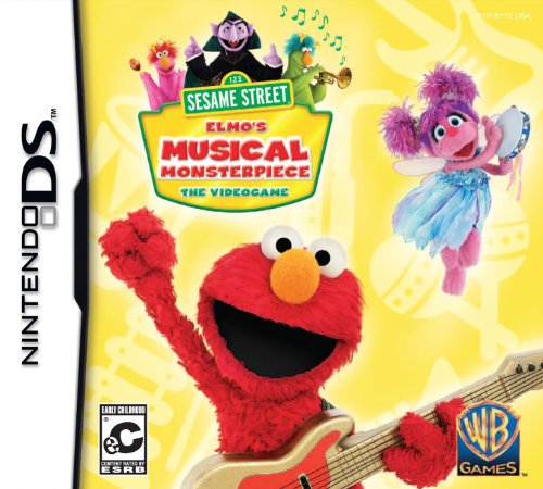 Sesame Street: Elmo's Musical Monsterpiece - Nintendo DS - 1