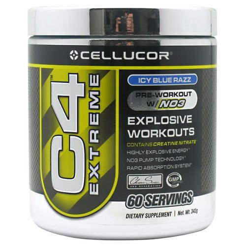 Cellucor C4 New 60 Servings Blue Razz Extreme Pump Insane Energy
