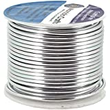 Mandala Crafts® Colored Aluminum 12 Gauge Jewelry Making Beading Craft Wire, 60 Ft (Silver)