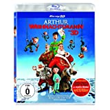 Arthur Weihnachtsmann Blu-ray 3D