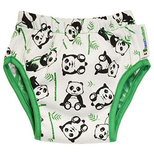 Best Bottom Training Pants, Playful Panda, X-Large - 1