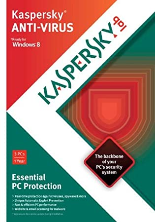 Kaspersky Anti-Virus 2013 - 1 User