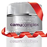 LABOR DAY WEEKEND Anti Aging Cream Moisturizer VITAMIN C From CAMU CAMU ★ Exclusive Formula ★ 1.7 oz - Shea Butter, Acai, Noni, Pomegranate, Aloe, Pure Green Tea Extract, Mangosteen, Collagen, Anti-Wrinkle Sun Damage Repair Reduces Fine Lines and Wrinkles, Brightens Skin, Anti Wrinkle Cream, Anti Aging Moisturizer, Anti Aging Skin Care, Paraben Free Moisturizer, Live Ultimate Anti Aging Products, Anti Aging