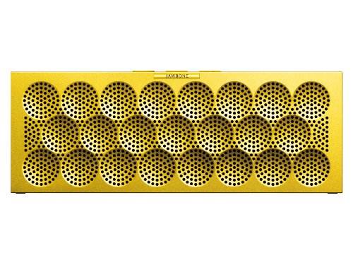Mini Jambox By Jawbone Wireless Bluetooth Speaker - Yellow Dot - Retail Packaging