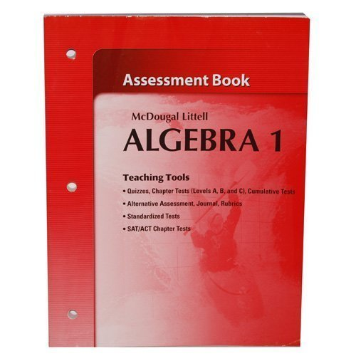 Mcdougal littell algebra 1 assessment book download pdf by ron mcdougal littell algebra 1 assessment book download pdf by ron larson laurie boswell timothy d kanold lee stiff fandeluxe Images