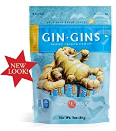 Gin Gins Peanut Chewy Ginger Candy By The Ginger People
