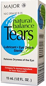 Natural Balance Tears 15ml (3 Pack)