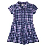 Mossimo Supply Co. Girls' Short-Sleeve Plaid Tunic - Purple