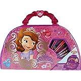 Disney Princess Sofia The First 49 Piece Art HANDBAG Carry Case