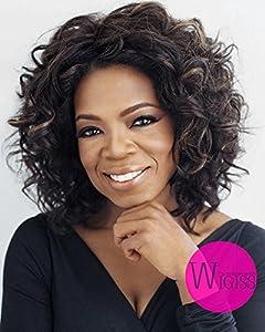 Wigiss Charming Fashion Short Wave Wig 100% Kanekalon Fiber Synthetic Women Wig with Wig Cap (Dark Brown) Grand Sale!!!