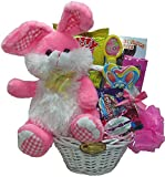Delight Expressions Easter Bunny Gift Basket for Kids - Easter Gift for Girls