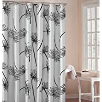 Soleil Luxury Light Silver Shower Curtain 70x72