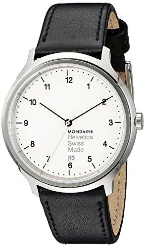 Reloj de pulsera para hombre Mondaine Helvetica - Referencia MH1R2210LB