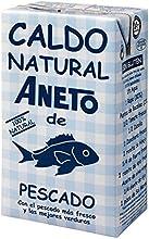Aneto - Caldo natural de pescado 100% natural - 1 L