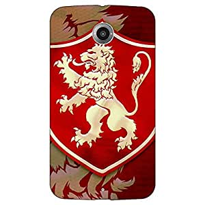 Jugaaduu Game Of Thrones GOT House Lannister Back Cover Case For Google Nexus 6