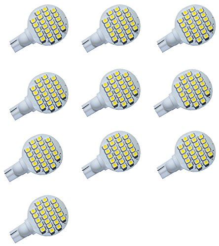 Avigator T10 921 194 24-3528 Smd Led Bulb Lamp Super Bright Warm White Dc 12V Pack Of 10 front-206070