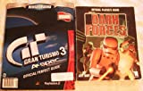 2- OFFICIAL PLAYERS GUIDES FOR [ STAR WARS DARK FORCES ] AND [ GRAN TURISMO 3 A-SPEC ]