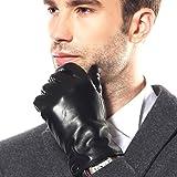 Bestselling Men's Stylish Winter Nappa Leather Gloves (Plush/cashmere Lining)