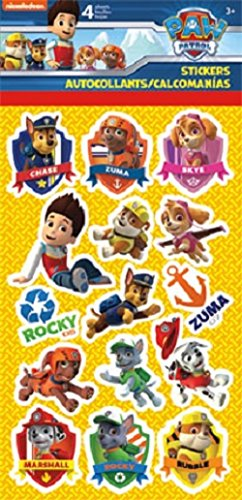 PAW Patrol Party and Reward Stickers 4 ct - 1