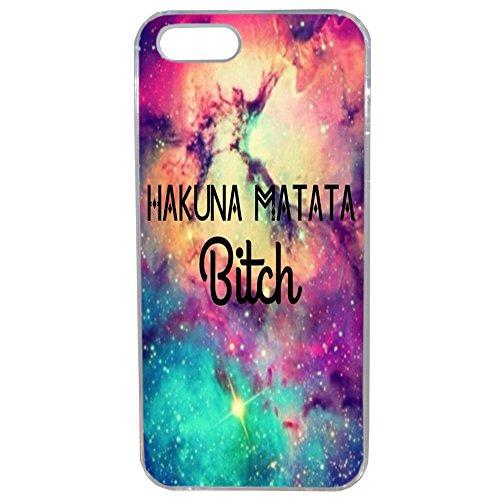 Lapinette-Coque--Matata Bitch 5 g-Cover rigida, motivo Hakuna Matata Bitch per iPhone 5/5s