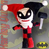 "Licensed DC Comics Originals 2.5"" Harley Quinn String Doll Keychain Officially Licensed DC Products,"