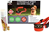 NEW Citronella No Bark Gentle Spray, Humane No Shock Collar, Stop barking, Anti-bark with Advanced Bark Detection (Small, Medium, Large Dogs), By Downtown Pet Supply