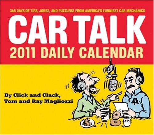 2011 Daily Calendar: Car Talk