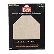 Ali Ind. 330175 Do it Best Aluminum Oxide Sandpaper-100C A/O SANDPAPER