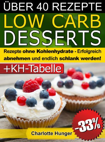 rezepte ohne kohlenhydrate low carb desserts das di t kochbuch kohlenhydrate tabelle. Black Bedroom Furniture Sets. Home Design Ideas