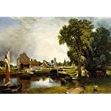 Dedham Mill, by John Constable (Print On Demand)