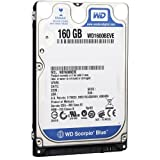 Western Digital 160 GB Scorpio Blue 100 Mb/s 5400 RPM 8 MB Cache Bulk/OEM Notebook Hard Drive - WD1600BEVE