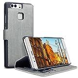 Huawei P9 Tasche, Terrapin Leder Tasche Case Hülle im