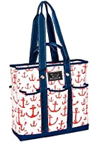 SCOUT Pocket Rocket Multi-Pocket Zip-Top Tote, 15 by 14-1/2 by 5 Inches