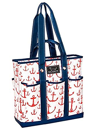 SCOUT Pocket Rocket Multi-Pocket Zip-Top Tote, 15 by 14-1/2 by 5 Inches,One Size,Captain Hooked