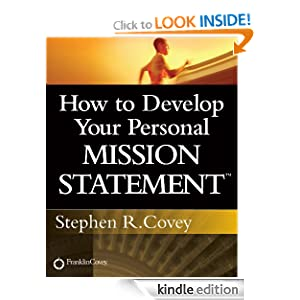 How to Develop Your Personal Mission Statement