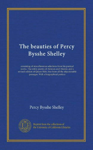 Image of The Poems of Percy Bysshe Shelley