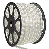 Cool White LED Rope Light - 12 Volt - 150' Cool White LED Rope Light - 2 Wire 1 2
