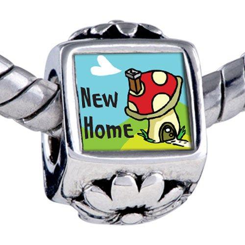 Pugster Bead New Home Beads Fits Pandora Bracelet