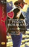 img - for The Texan's Contested Claim (Silhouette Desire) book / textbook / text book